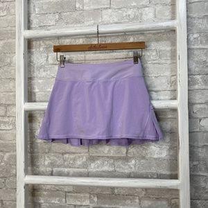 Lululemon Pace Setter Skirt Lilac Size 2